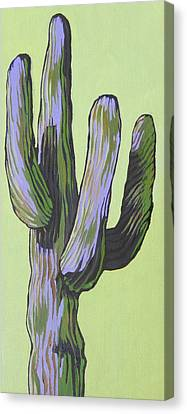 Saguaro 5 Canvas Print by Sandy Tracey