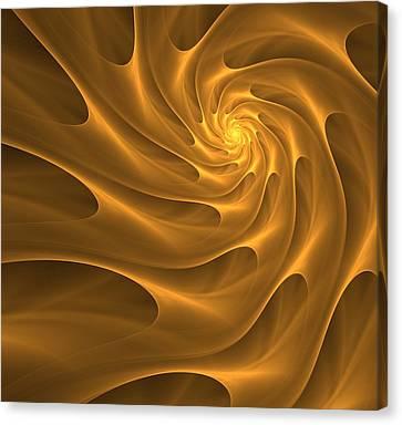 Golden Sahara Canvas Print by Anna Bliokh