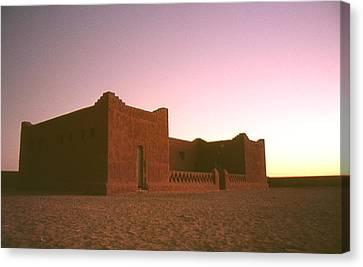 Sahara House Canvas Print by David Halperin