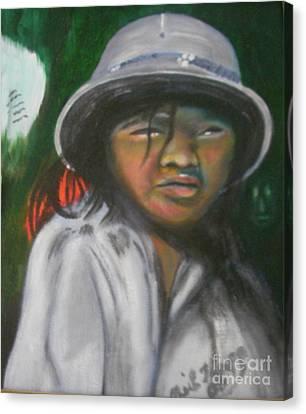 Saigon Soldier Canvas Print by Neil Trapp