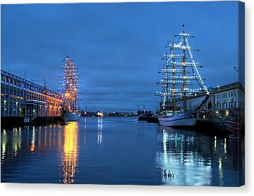 Sail Boston Tall Ships  Canvas Print