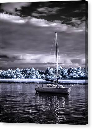 Sailboat 01 Canvas Print