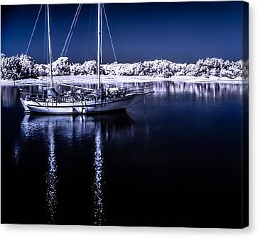 Sailboat 28 Canvas Print