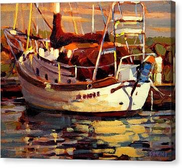 Sailboat Canvas Print by Brian Simons
