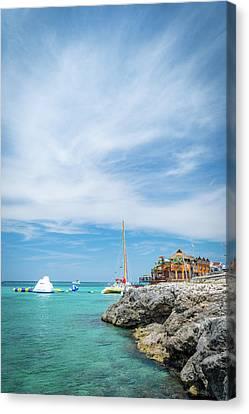 Coastline Sailing In Montego Bay Canvas Print