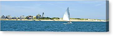 Sailing Around Barnstable Harbor Canvas Print