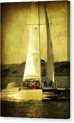 Sailing Away Canvas Print