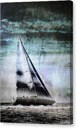 Sailing Boat Nautical 2 Canvas Print by Jean Francois Gil