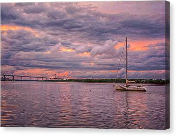 Canvas Print - Sailing by Donnie Smith
