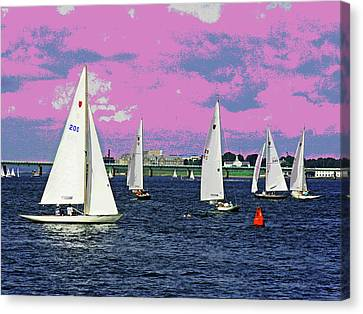 Sailing Fun Canvas Print