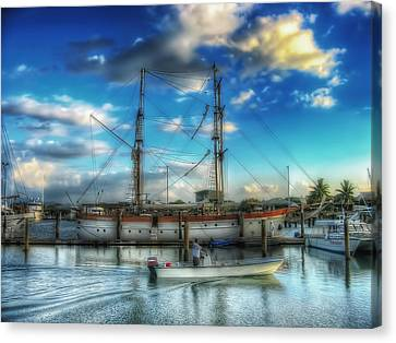 Sailing Ship Fiji Canvas Print