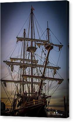 Sailing Ships 2 Shipping Art Canvas Print by Reid Callaway