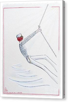 Sailing Solo Canvas Print by Barbara Chase