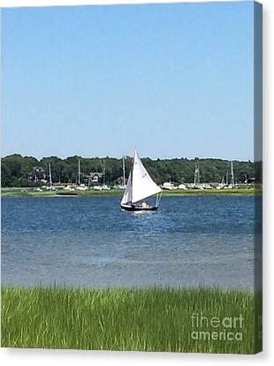 Sailing The Cape Canvas Print