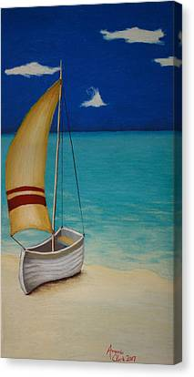 Sailors Solitude Canvas Print by Amanda Clark