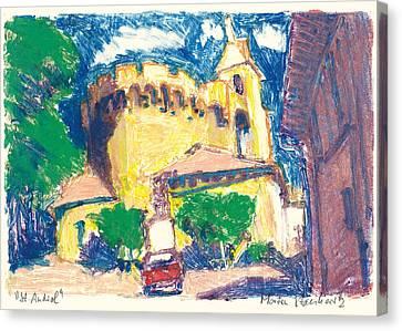 Saint Andiol Provence Canvas Print