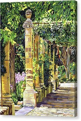 Saint-andre Abbey France Canvas Print by David Lloyd Glover