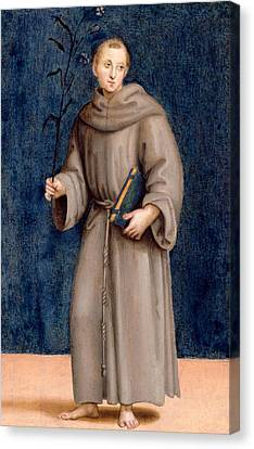 Saint Anthony Of Padua Canvas Print
