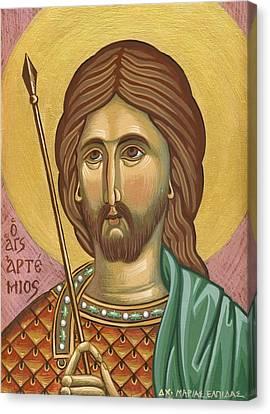 Saint Artemios Canvas Print