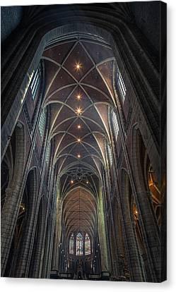 Saint Bavo's Cathedral Canvas Print by Chris Fletcher