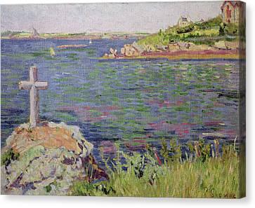 Saint Briac Canvas Print by Paul Signac