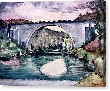 Saint Bridge Canvas Print