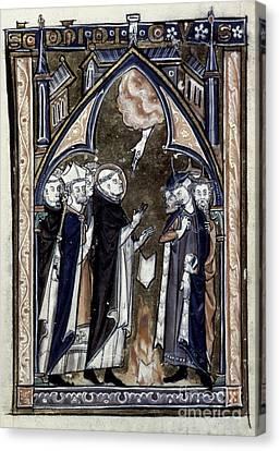 Saint Dominic Canvas Print by Granger
