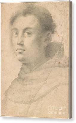 Saint Dominic Canvas Print - Saint Dominic Shown  by MotionAge Designs