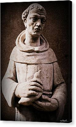 Saint Francis Of Assisi  Canvas Print by Melissa Wyatt