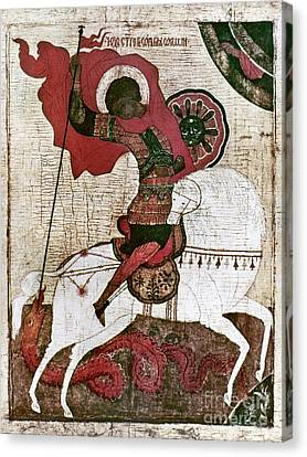 Saint George Canvas Print by Granger