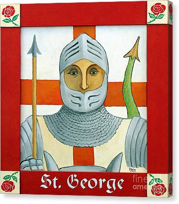 Saint George Canvas Print by Paul Helm