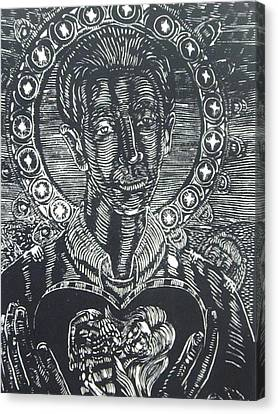 Saint Gerard Majella Canvas Print