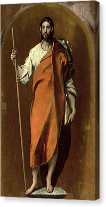 Cloak Canvas Print - Saint James The Greater by El Greco