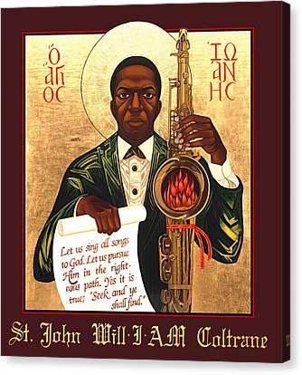 Saint John The Divine Sound Baptist Canvas Print by Mark Dukes