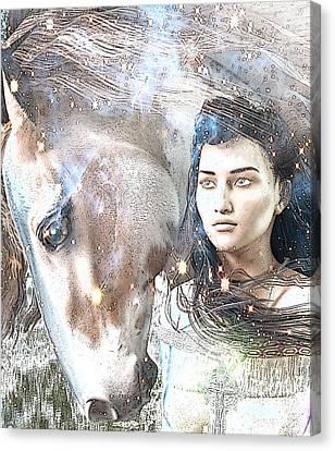 Saint Kateri Poster Canvas Print
