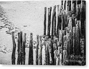 Canvas Print featuring the photograph Saint Malo by Delphimages Photo Creations