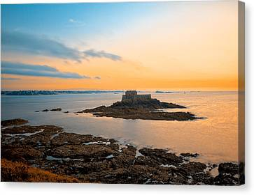 Saint-malo Twilight 2 Canvas Print