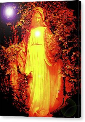 Saint Mary No. 01 Canvas Print by Ramon Labusch