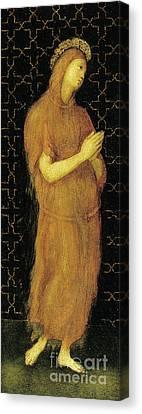 Saint Mary Of Egypt Canvas Print