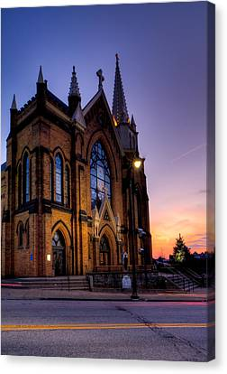 Saint Mary Of The Mount Canvas Print by David Hahn