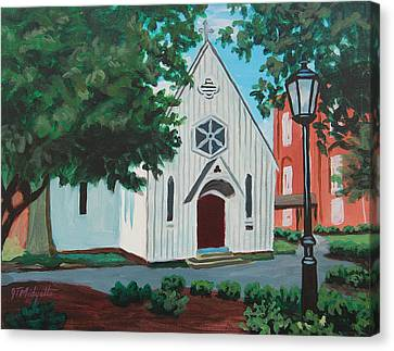 Saint Mary's Chapel Canvas Print by Tommy Midyette