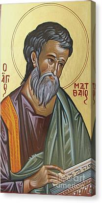 Saint Mathew Canvas Print by George Siaba
