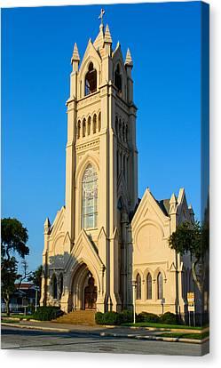Saint Patrick Catholic Church Of Galveston Canvas Print