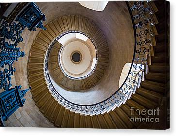 Saint Paul's Cathedral Stairs Canvas Print by Inge Johnsson