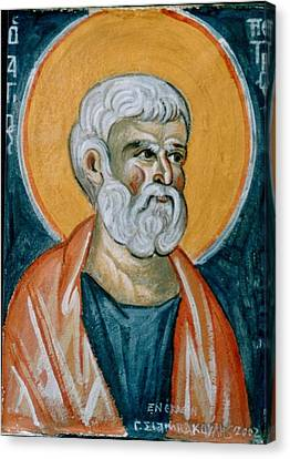 Saint Peter Canvas Print by George Siaba