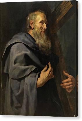 Saint Philip Canvas Print by Peter Paul Rubens