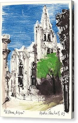 Saint Pierre Avignon Provence Canvas Print