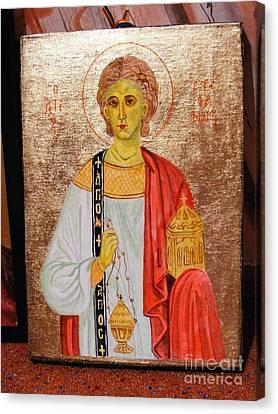 saint Stephan Canvas Print by Ciocan Tudor-cosmin