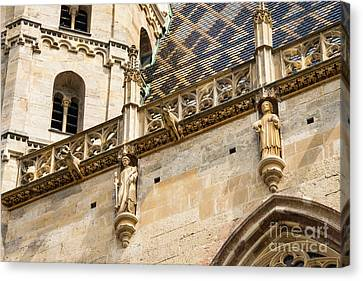 Saint Stephens Facade Three Canvas Print