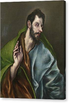 Saint Thomas Canvas Print by El Greco